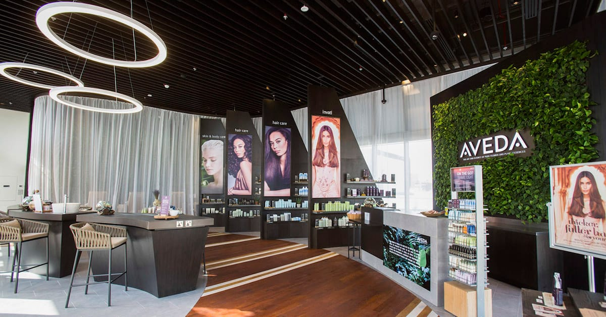 A review of the new aveda beauty salon in dubai savoir flair for 7 shades salon dubai