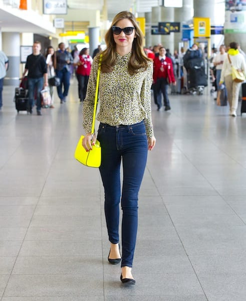 Celebrity Airport Outfits Savoir Flair