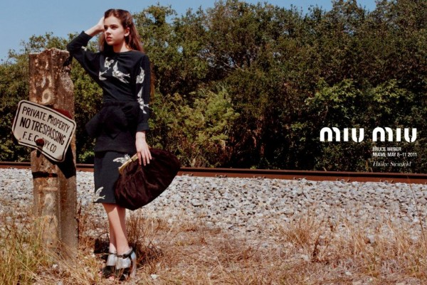 Miu Miu Hailee Steinfeld ad campaign