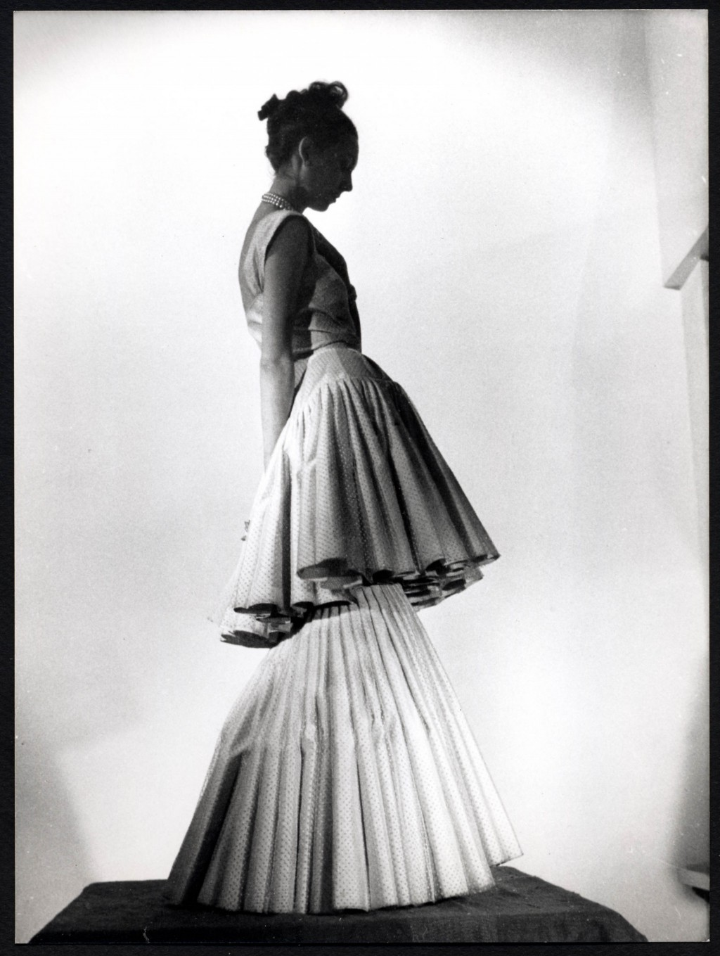Early Christian Dior Gown Created in 1947