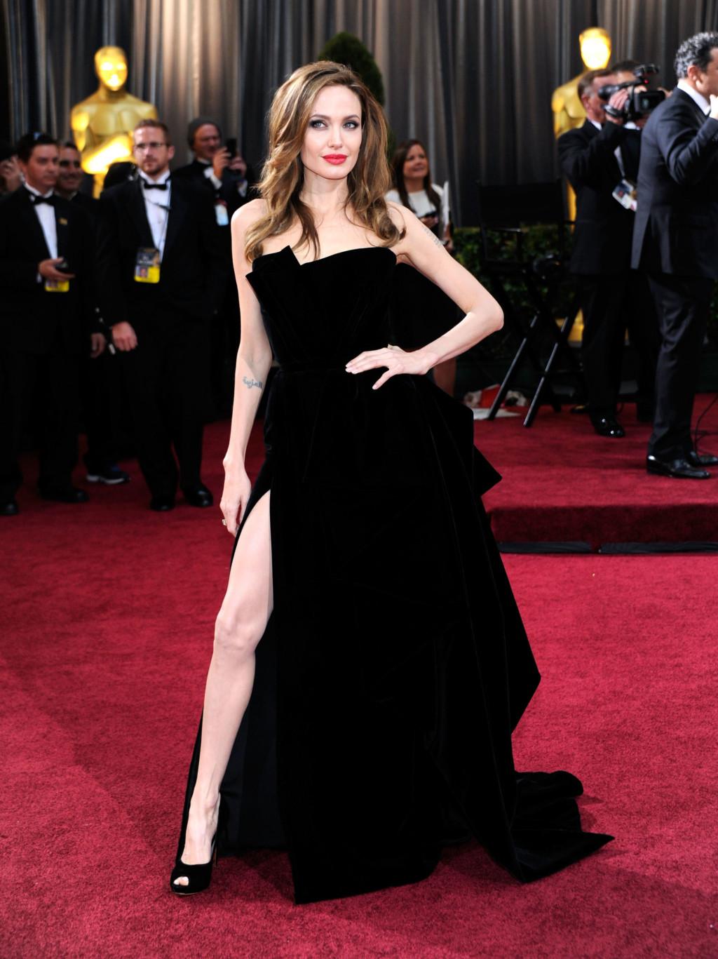 Angelina's Right Leg