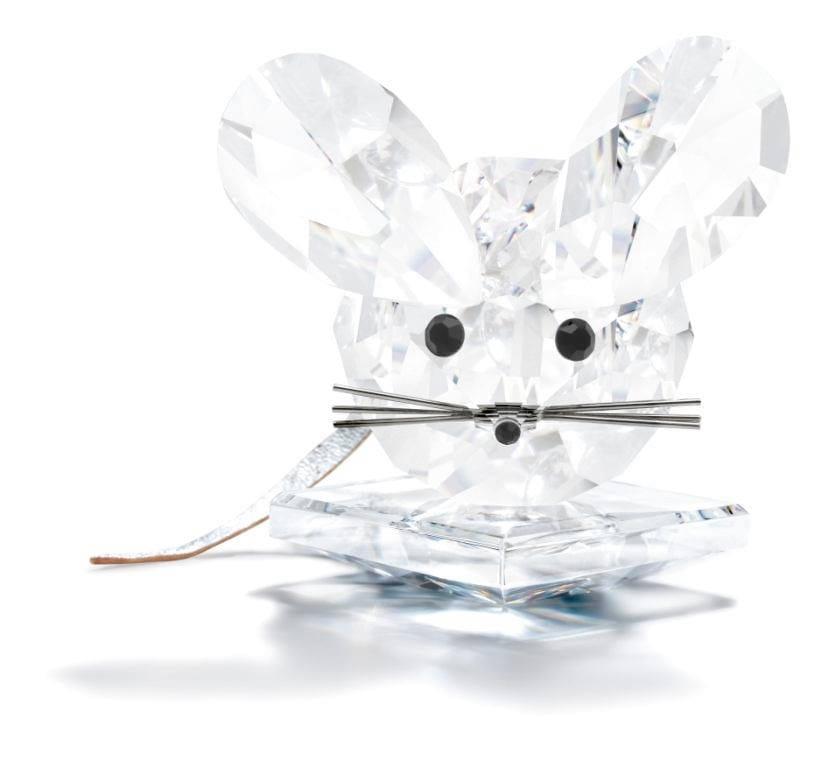 Swarovski Mouse Figurine