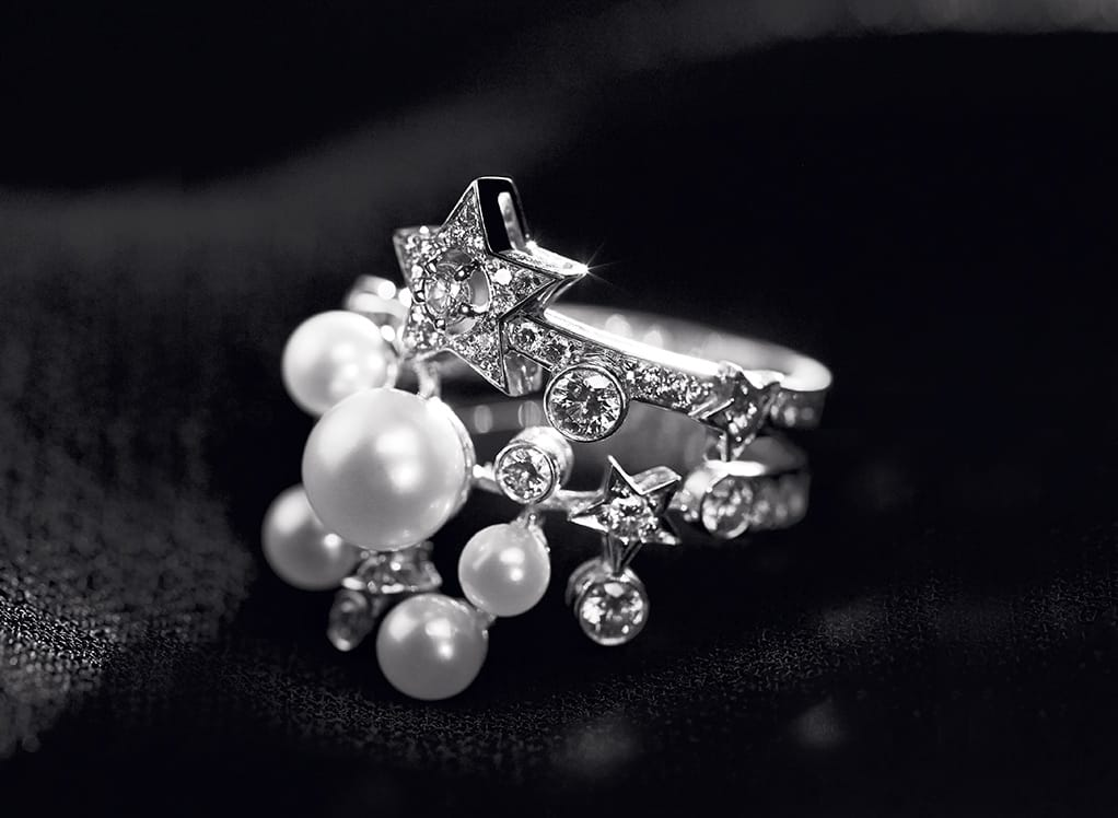 Chanel comete ring fine jewelry