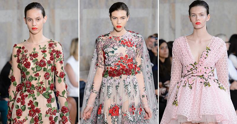 Giambattista Valli Fall 2017 Couture Collection