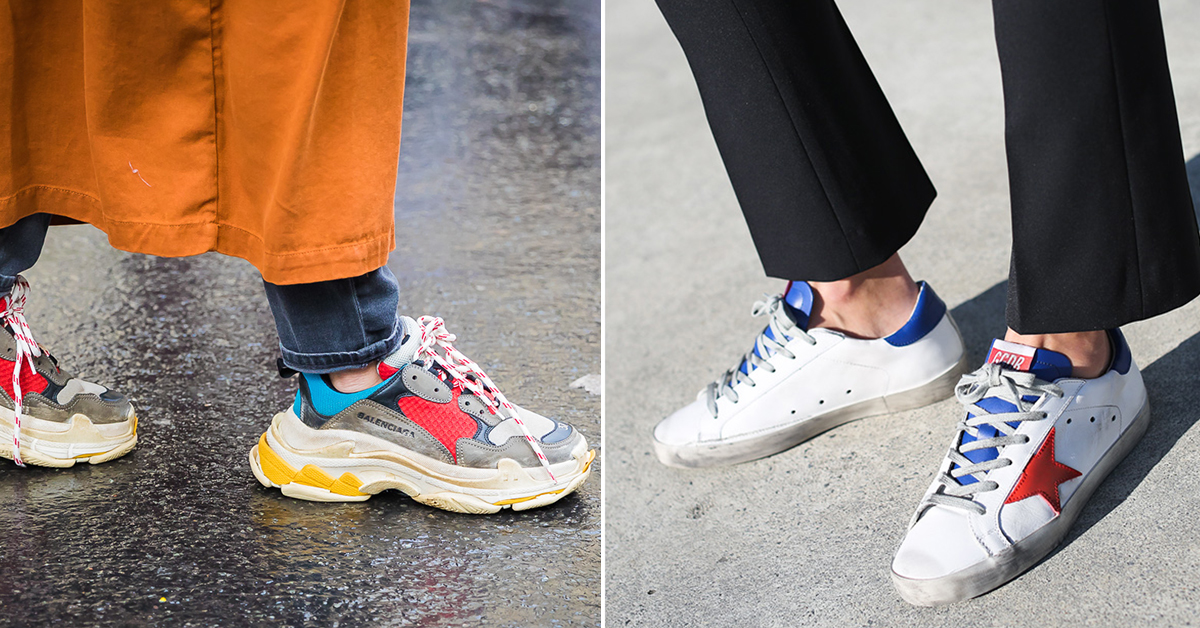 These Are The Biggest Sneaker Trends