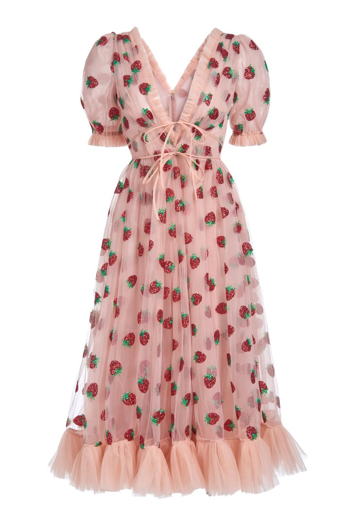 How Did a Strawberry Dress Become the Viral Trend of the Pandemic?