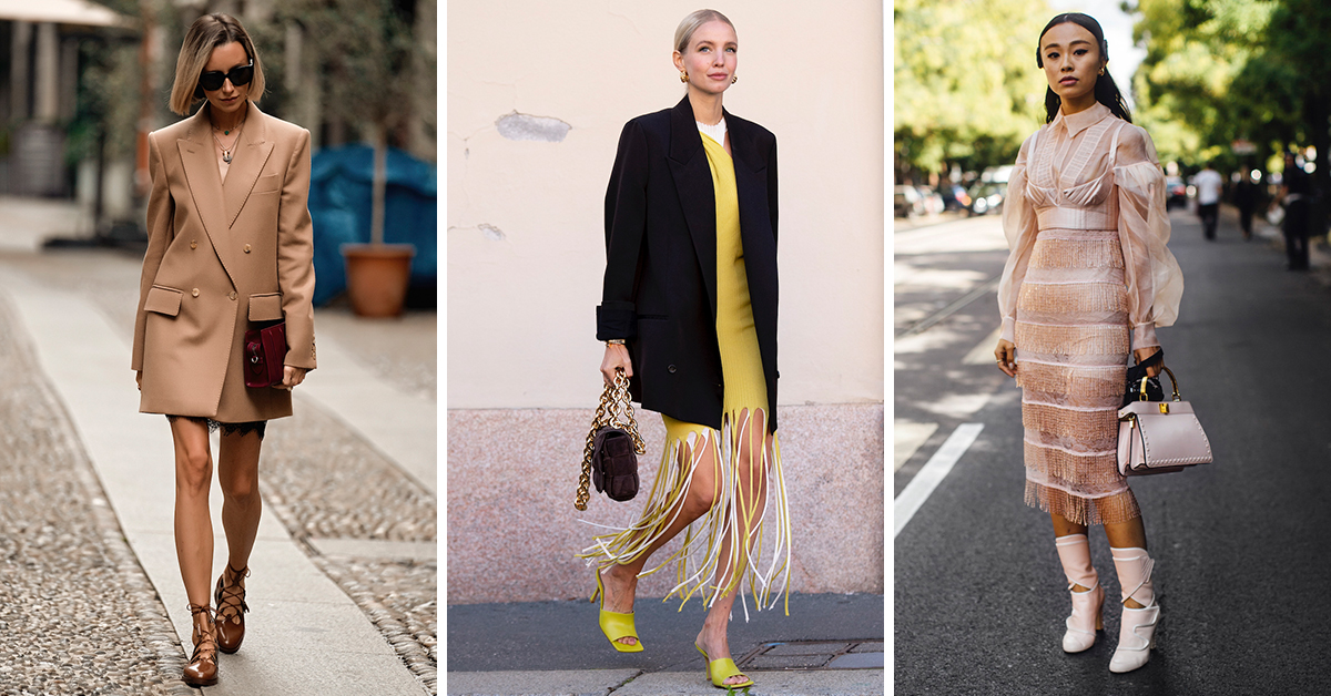 6 of the Best Street Style Trends from Milan and Paris – Savoir Flair