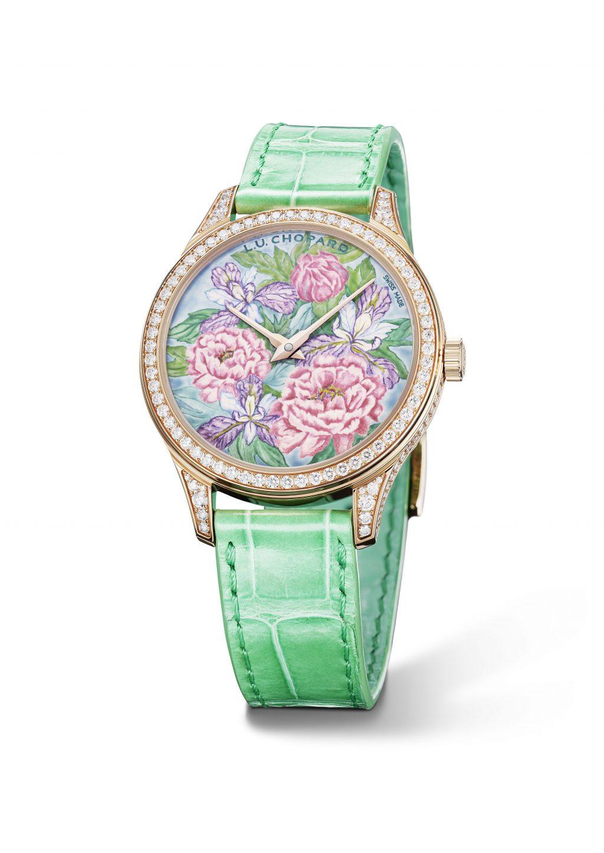 Chopard ' L.U.C XP Esprit de Fleurier Peony' watch
