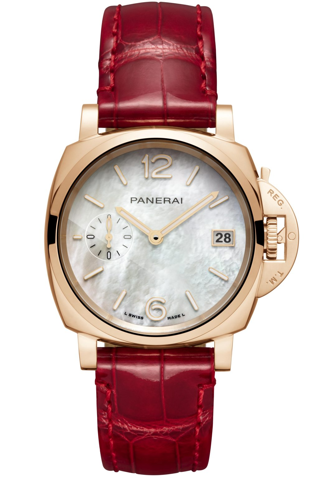 Panerai 'Piccolo Due Madreperla' watch