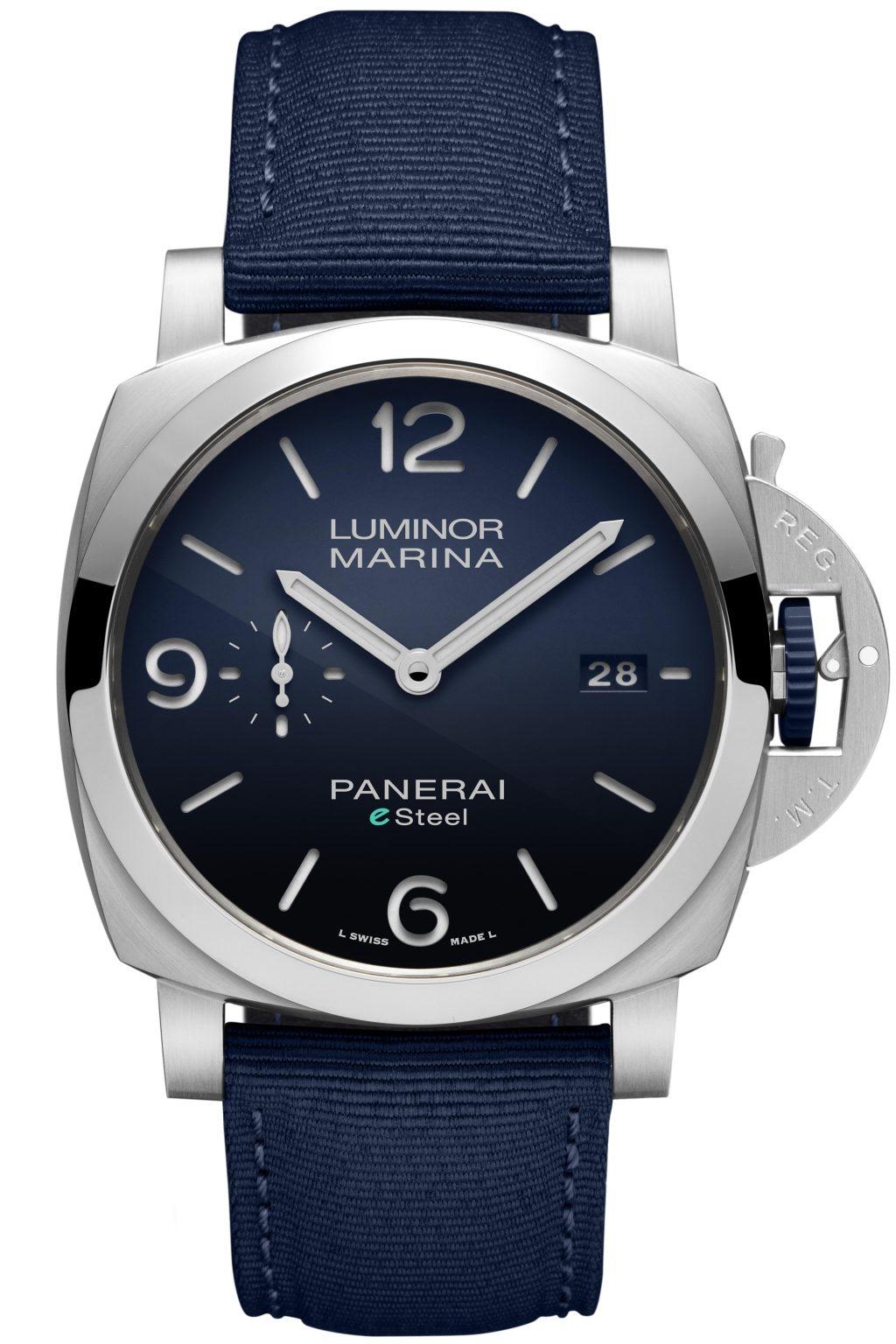Panerai 'Luminor Marina eSteelTM' watch